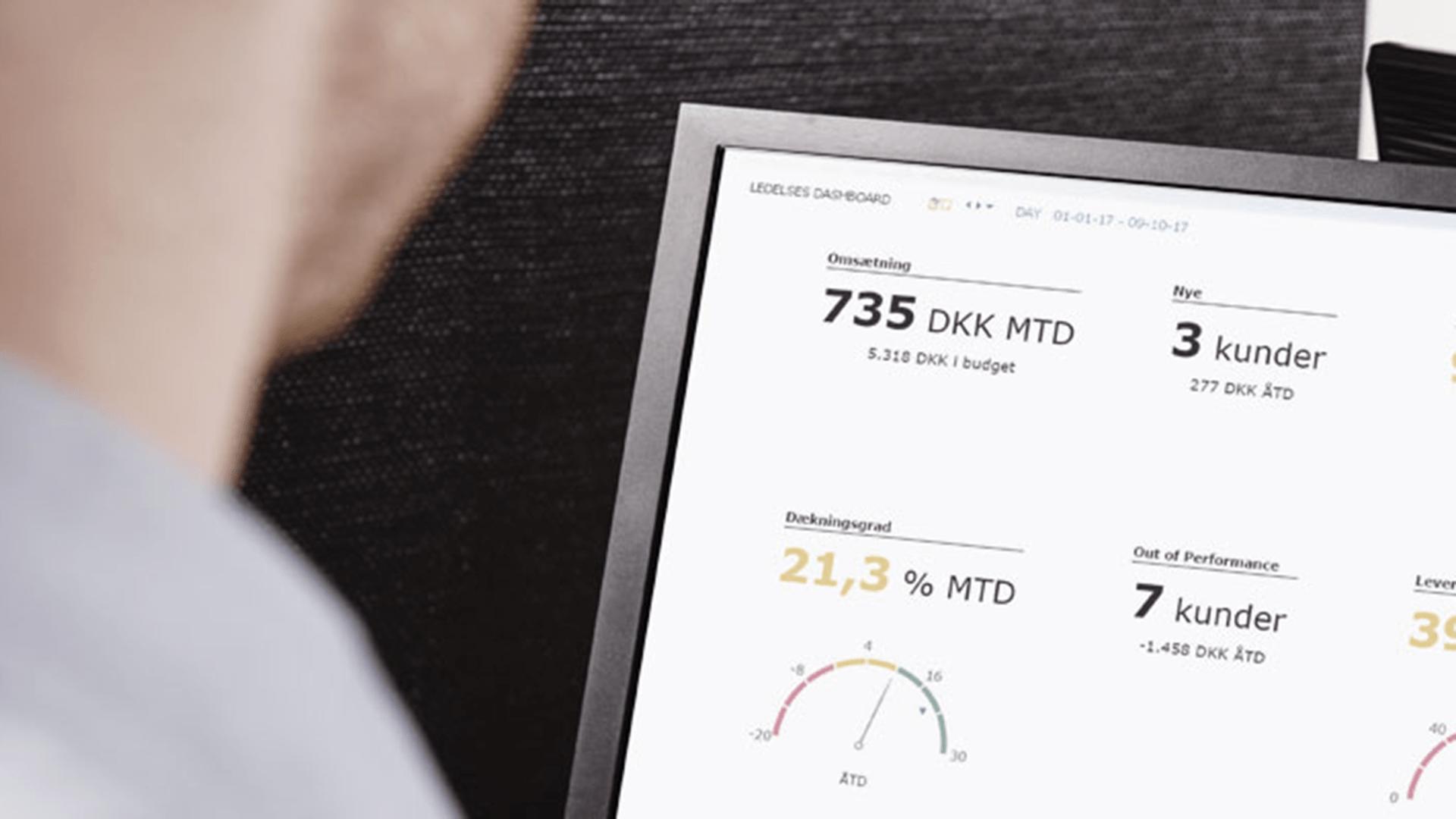 Få et dashboard fyldt med KPI'er til CFOs